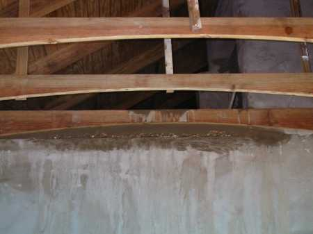 curved rafters